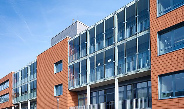 R der architekten und ingenieure mutterhaus d borrom erinnen trier for Betreutes wohnen trier